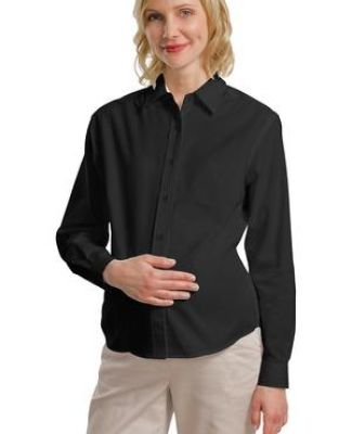 242 L608M CLOSEOUT Port Authority Maternity Long Sleeve Easy Care Shirt Catalog