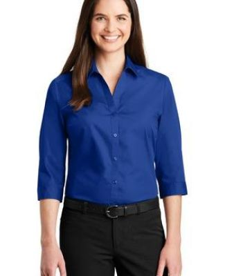 242 LW102 Port Authority Ladies 3/4-Sleeve Carefree Poplin Shirt Catalog