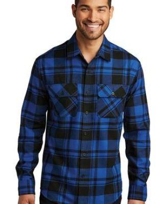 242 W668 Port Authority Plaid Flannel Shirt Catalog