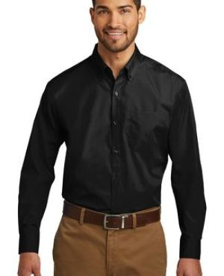 242 TW100 Port Authority Tall Long Sleeve Carefree Poplin Shirt Catalog