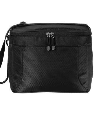 242 BG513 Port Authority 12-Can Cube Cooler Black/Black