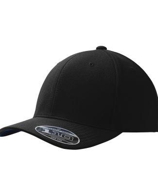 242 C934 Port Authority Flexfit One Ten Cool & Dry Black