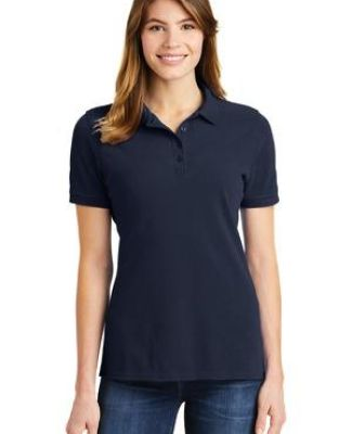 244 LKP1500 Port & Company Ladies Ring Spun Pique Polo Catalog