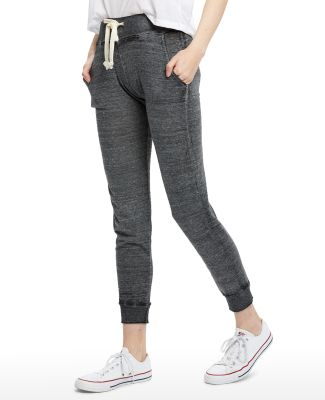 Ladies' Burnout Leisure Pant Tri-Grey