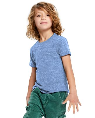 Toddler Tri-Blend Crewneck T-Shirt Tri-Blue