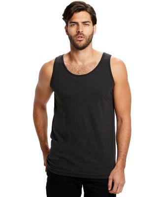 US Blanks US3408 /Unisex Tri-Blend Tank Tri-Black