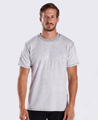 US Blanks US2000-GDS / Men's Seam Wash Garment Dye Sky Grey