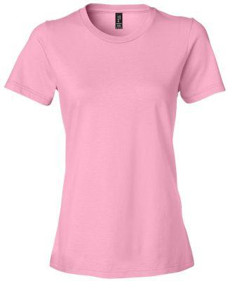 Anvil 880 Women's Lightweight Ringspun T-Shirt CharityPink