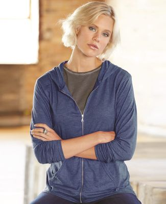 49 6759L Triblend Women's Hooded Full-Zip T-Shirt Catalog