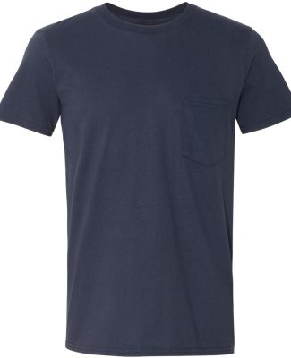 ANVIL 983 Lightweight Pocket T-Shirt Navy