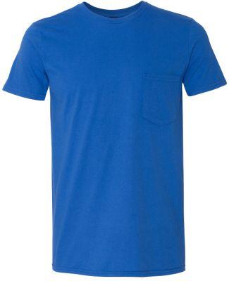 ANVIL 983 Lightweight Pocket T-Shirt Royal