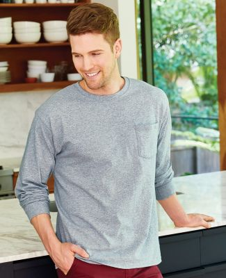 52 5596 Tagless Long Sleeve T-Shirt with a Pocket Catalog