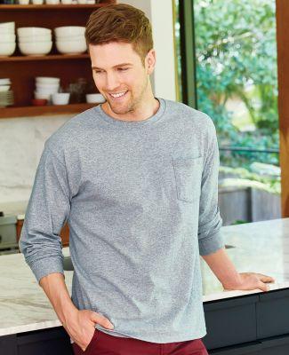 52 5596 Tagless Long Sleeve T-Shirt with a Pocket Catalog