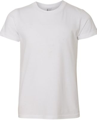 2201W Youth Fine Jersey T-Shirt WHITE