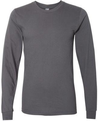 2007W Fine Jersey Long Sleeve T-Shirt ASPHALT