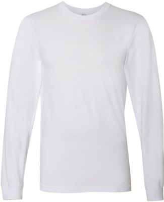 2007W Fine Jersey Long Sleeve T-Shirt WHITE