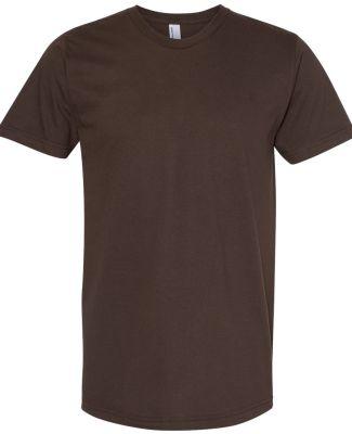 2001W Fine Jersey T-Shirt BROWN