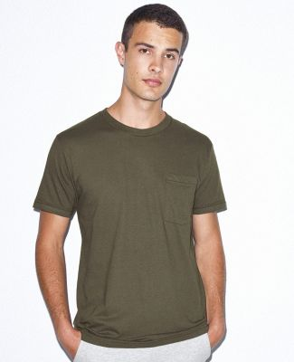 2406W Unisex Fine Jersey Pocket Short-Sleeve T-Shirt Catalog