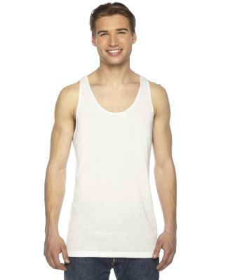 PL408W Unisex Sublimation Tank Top WHITE