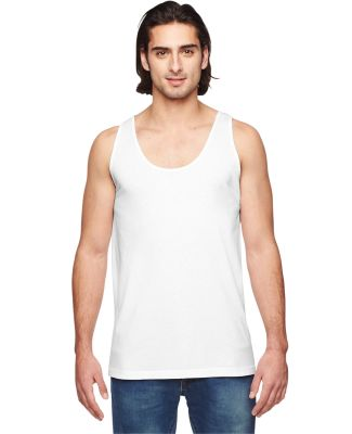 2411W Unisex Power Washed Tank Top WHITE