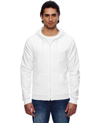 American Apparel 5497W Unisex California Fleece Zi WHITE