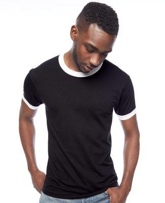 BB410W Unisex Poly-Cotton Short-Sleeve Ringer T-Shirt Catalog