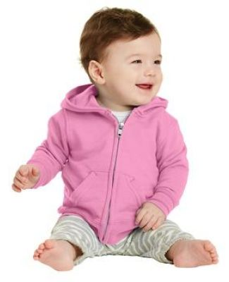 244 CAR78IZH Port & Company Infant Core Fleece Full-Zip Hooded Sweatshirt Catalog