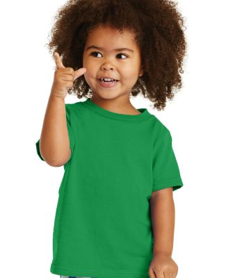 Port & Company CAR54T Toddler Core Cotton Tee Clover Green