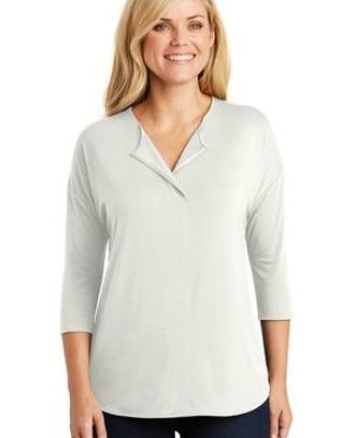 242 LK5433 Port Authority Ladies Concept 3/4-Sleeve Soft Split Neck Top Catalog