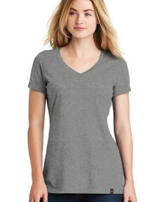 1001 LNEA101 New Era  Ladies Heritage Blend V-Neck Tee Catalog