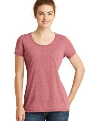 1001 LNEA130 New Era  Ladies Tri-Blend Performance Scoop Tee Catalog