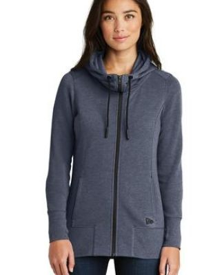 1001 LNEA511 New Era  Ladies Tri-Blend Fleece Full-Zip Hoodie Catalog