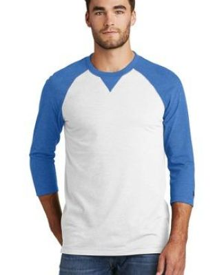 1001 NEA121 New Era  Sueded Cotton 3/4-Sleeve Baseball Raglan Tee Catalog
