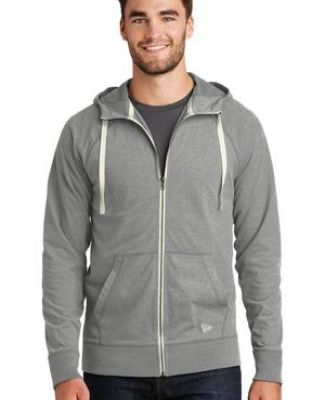 1001 NEA122 New Era  Sueded Cotton Full-Zip Hoodie Catalog