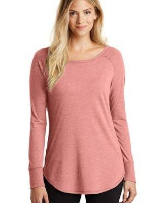 DT132L District Made  Ladies Perfect Tri  Long Sleeve Catalog