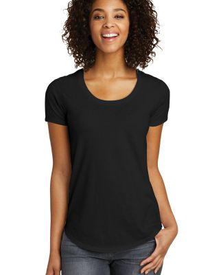 238 DT6401 District Juniors Scoop Neck Very Import Black