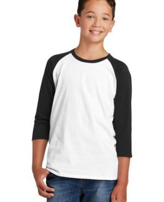 238 DT6210Y District  Youth Very Important Tee  3/4-Sleeve Catalog