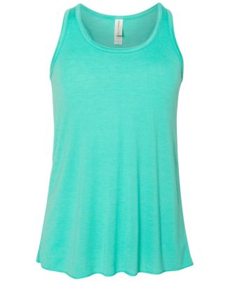 8800Y Bella + Canvas Youth Flowy RacerbackTank TEAL
