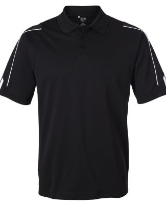 A76 adidas Golf Mens ClimaLite® 3-Stripes Cuff Polo -- Arriving Early 2010 Catalog