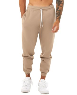 3727 Bella + Canvas Unisex Sponge Fleece Jogger Sw TAN