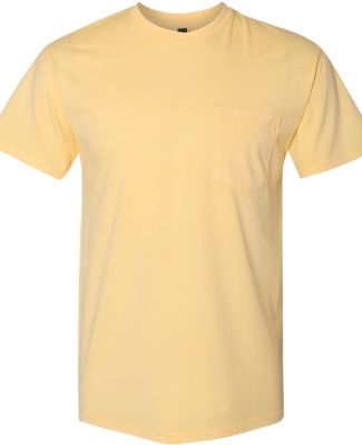Next Level 7415 Inspired Dye Pocket Crew BLONDE