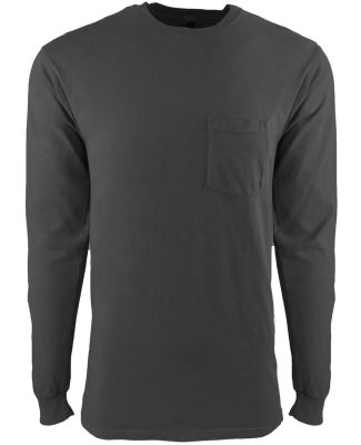 Next Level 7451 Inspired Dye Long Sleeve Pocket Cr SHADOW