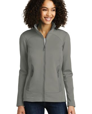 240 EB241 Eddie Bauer Ladies Highpoint Fleece Jack Metal Grey