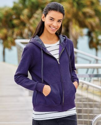 50 LSF73R Women's Sofspun® Full-Zip Hooded Sweatshirt Catalog