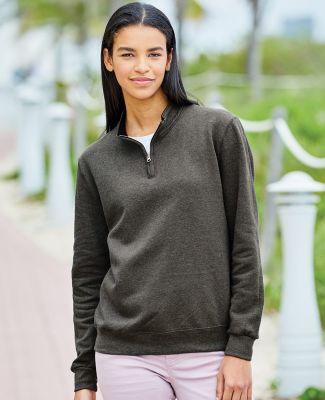 50 LSF95R Women's SofSpun® Quarter-Zip Sweatshirt Catalog