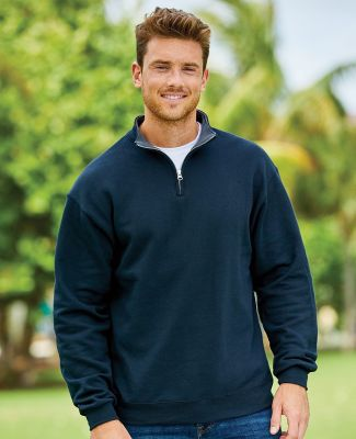 50 SF95R Sofspun® Quarter-Zip Sweatshirt Catalog