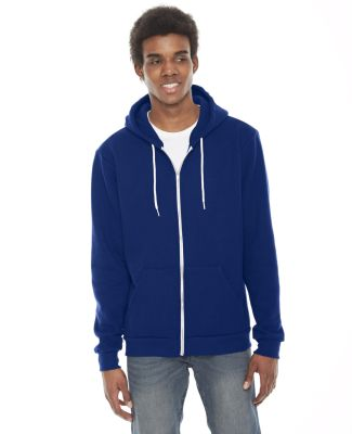 F497 American Apparel Flex Fleece Zip Hoody LAPIS