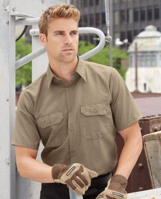 382 SY60 Red Kap Short Sleeve Solid Ripstop Shirt Catalog