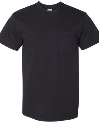 Gildan H300 Hammer Short Sleeve T-Shirt with a Poc BLACK