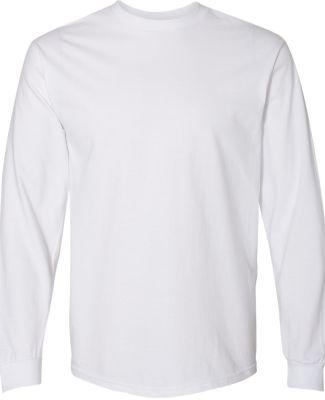 Gildan H400 Hammer Long Sleeve T-Shirt WHITE